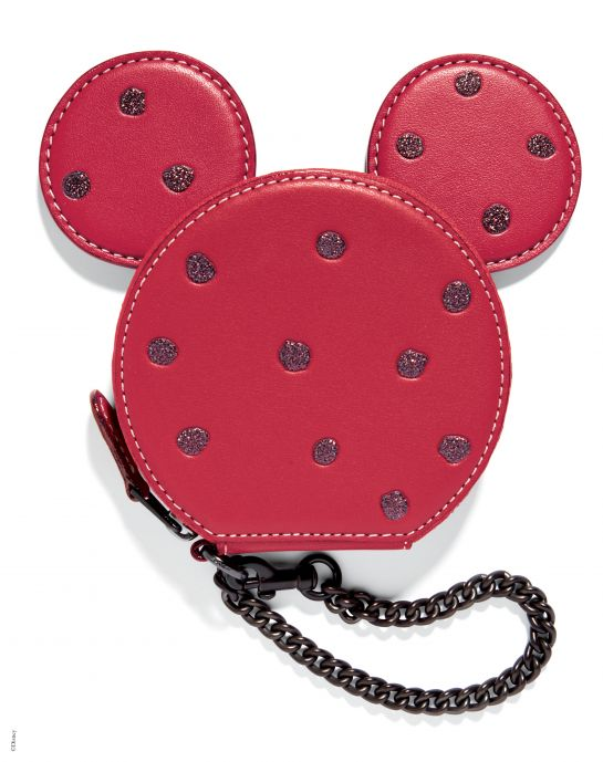 Disney x Coach Minnie Mouse Coin Case, _INR 4775, available at Coach.... (4)