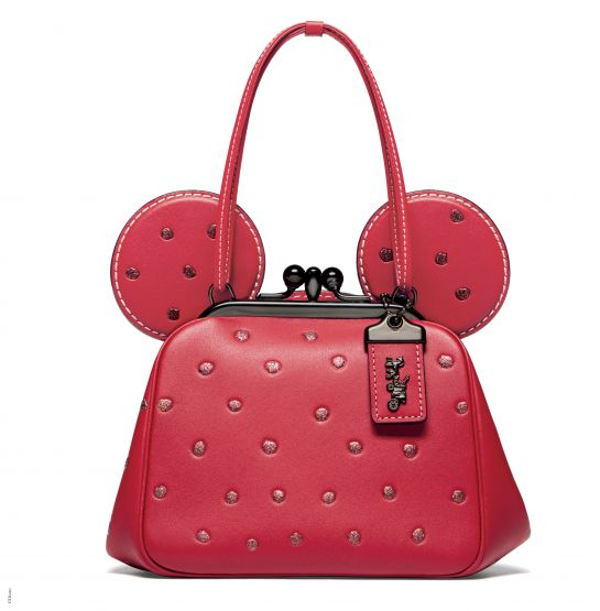 Disney x Coach Minnie Mouse Kisslock Bag in Red,_INR 28650, available at Coach (1)