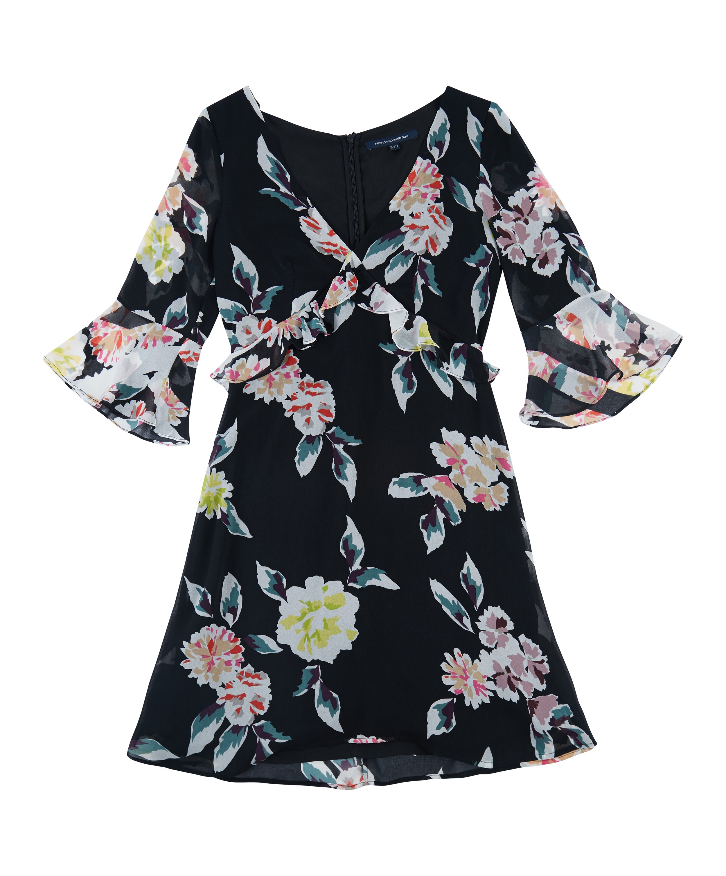 French Connection_Black floral_INR 8999