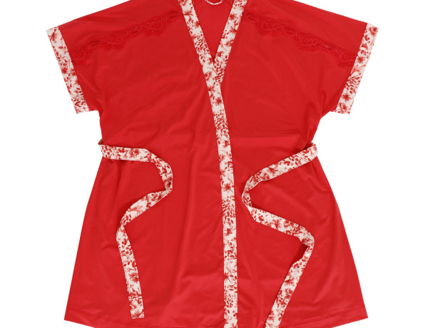 Sleep Robe Tomato Red MRP 2895 front