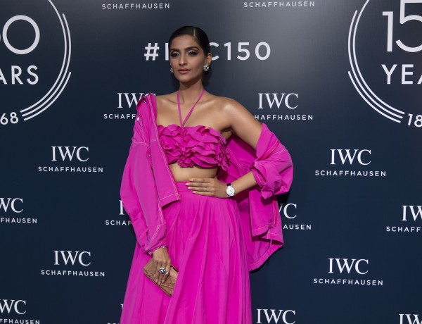 Sonam Kapoor at the IWC Schaffausen 150 years celebration in Dubai