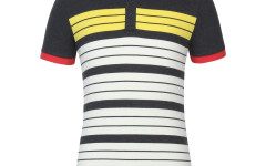 United Colors of Benetton, black and yellow stipes t-shirt