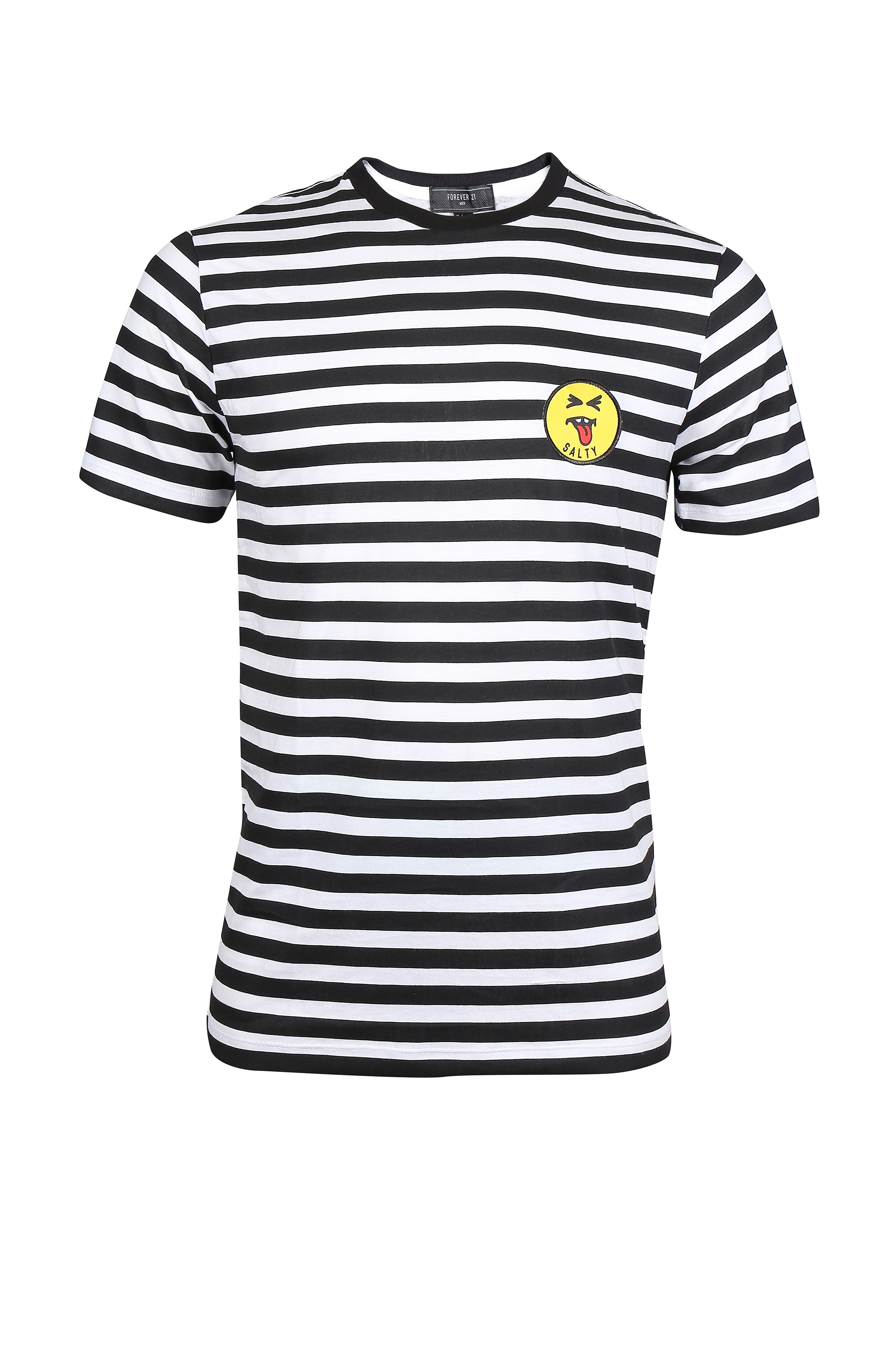 Blue and white striped tee for men - Rs. 799