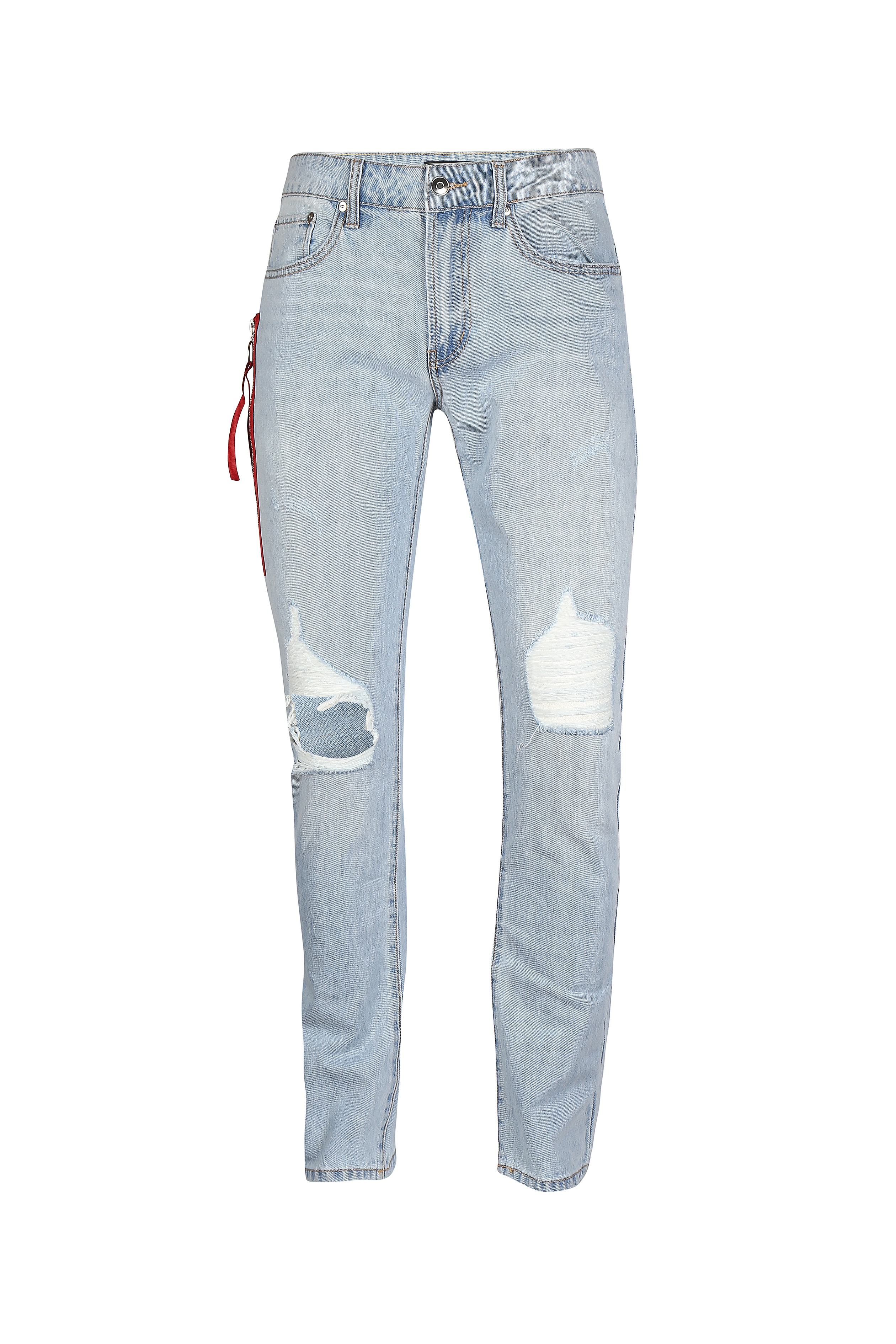 Light blue ripped jeans for men - Rs. 2499 (1)