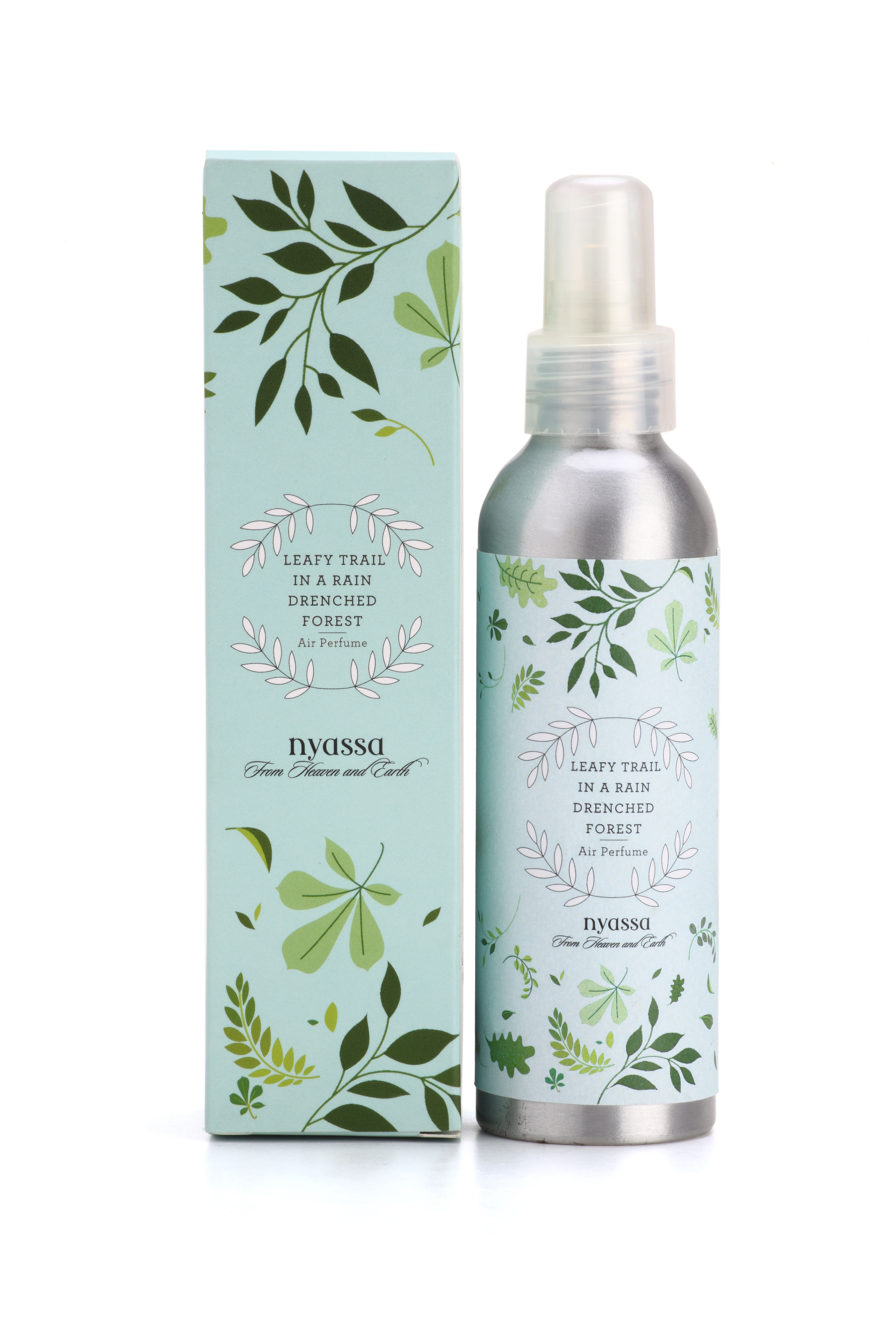 Nyassa Leafy Trail In A Rain Drenched Forest Air Perfume (180 ml)_ INR 500