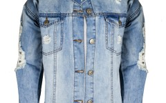 Forever21_Blue ripped denim jacket for men- Rs 2609