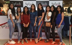 Blogger Aashna Shroff and Shivani Patil meet and greet their followers at Splash store launch at Phoenix Market City in Mumbai