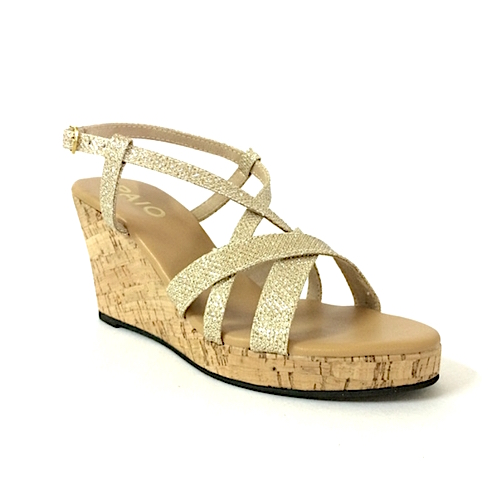 PAIO_ALISHA GOLD STRAPPY WEDGE HEELS_INR 2,590 (1)