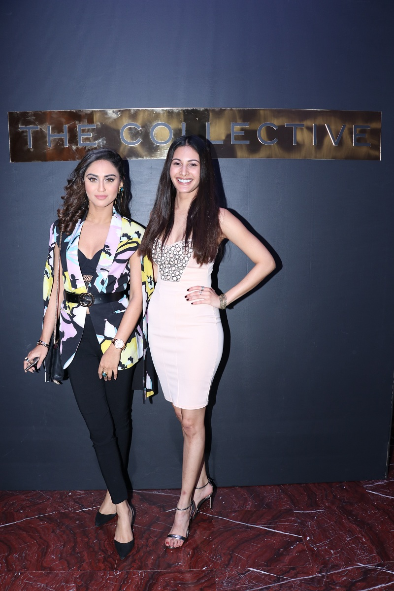 Krystle Dsouza and Amyra Dastur at The Collective's 10th Anniverssary Celebration