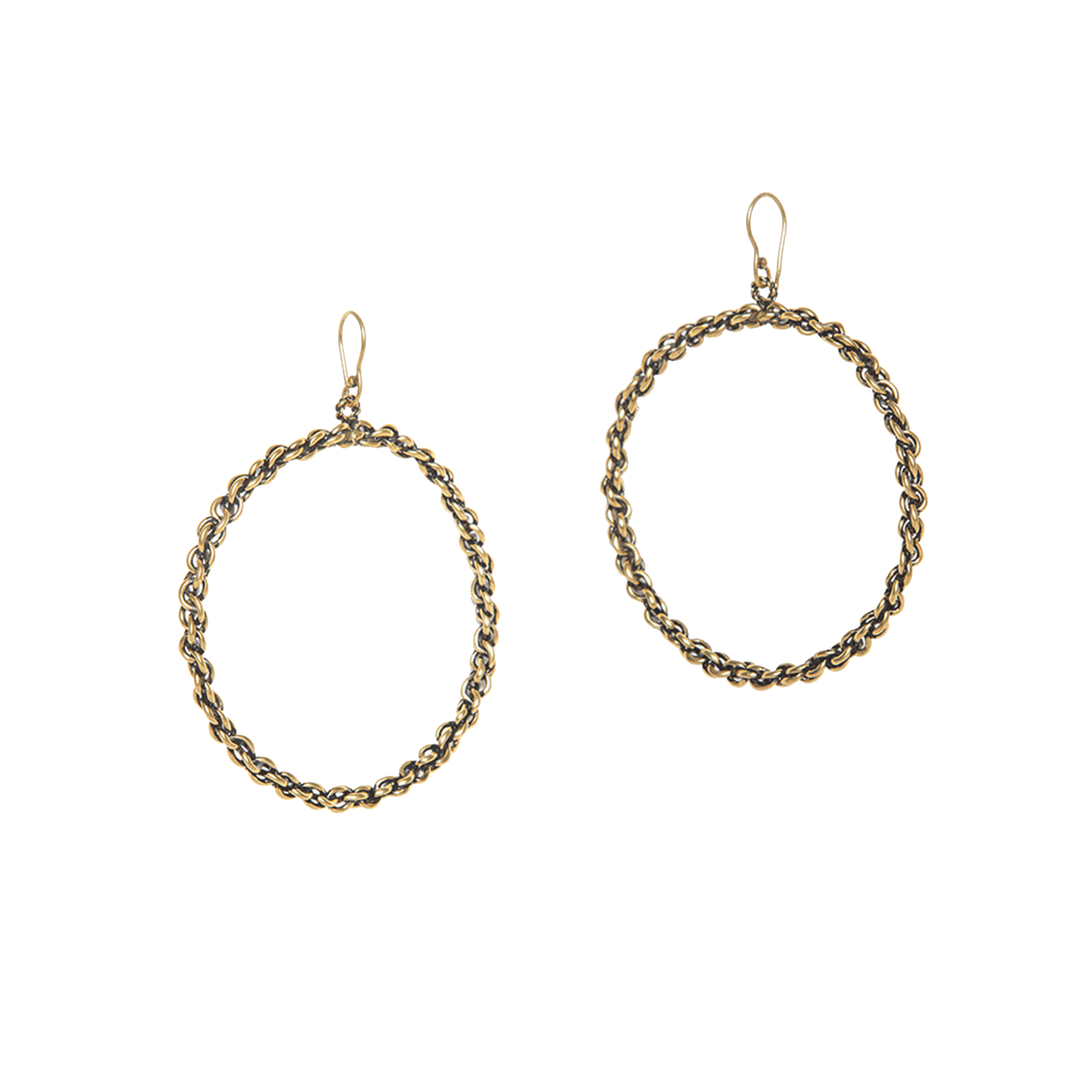 Shaya_Britney S Hoops in Gold Plating