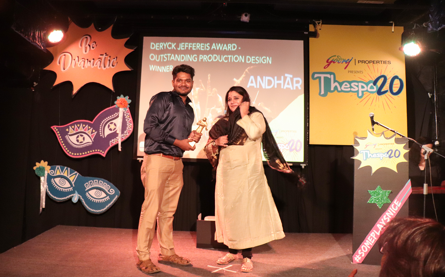 T20 Award - Deryck Jeffereis Award Outstanding Production Design - Andhar