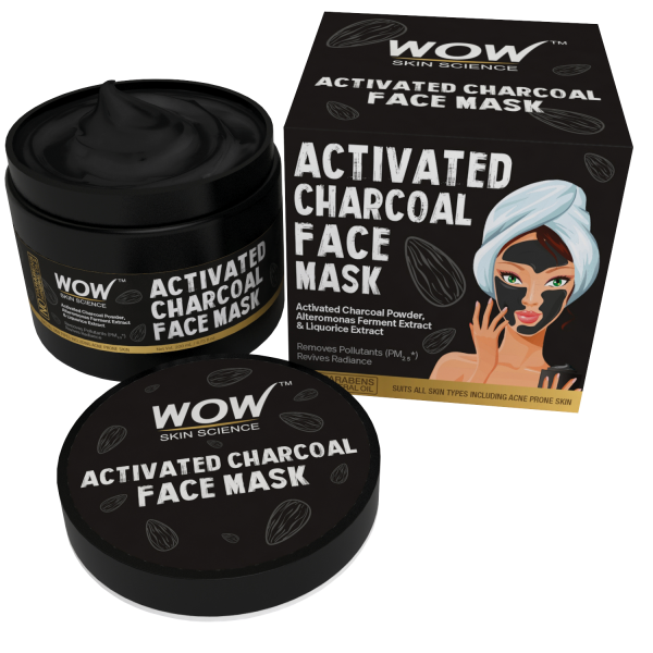 WOW Skin Science Activated Charcoal Face Mask - 200 mL_INR 699
